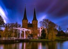 Frühherbstmorgen in Delft Stockfotografie