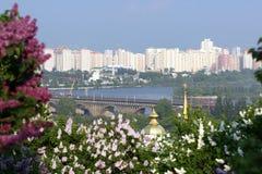 Frühjahr in Kiew Lizenzfreie Stockfotografie