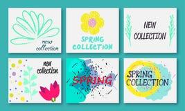Frühjahrskollektions-Design Stockfotos