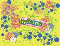Frühling vektor abbildung