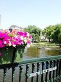 Frühling in Amsterdam stockfotografie