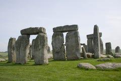 Frühling bei Stonehenge Stockfotografie