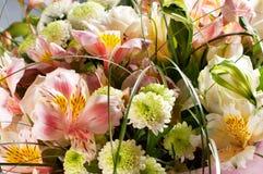 Frühling blüht Blumenstrauß Lizenzfreies Stockfoto