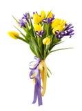 Frühling blüht Blumenstrauß Stockfotos