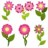 Frühling blüht Vektorillustration Stockfotografie