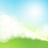 Frühling bokeh Hintergrund Lizenzfreies Stockbild