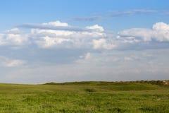 Frühling in den Steppen von Kasachstan Lizenzfreie Stockfotografie