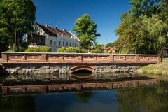 Frühling 2013 Dvina-Fluss Vitebsks Weißrussland Stockbilder