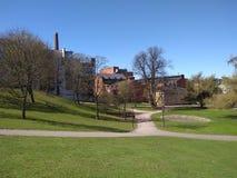 Frühling in Helsinki lizenzfreie stockfotos