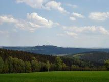 Frühling im Erzgebirge Lizenzfreie Stockbilder