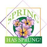 Frühling ist entsprungen! Stockfotografie