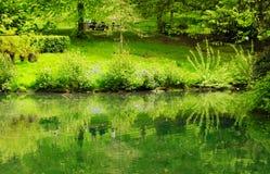 Frühling in Kelvingrove-Park in Glasgow Stockfotografie