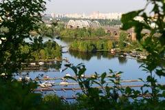 Frühling in Kiew Stockbild
