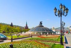 Frühling in Moskau Lizenzfreie Stockfotos