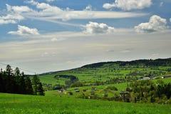 Frühling nahe Bruntal Lizenzfreies Stockfoto