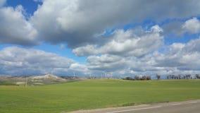 Frühling in Palencia Lizenzfreie Stockbilder