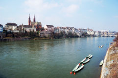 Frühling Rhein Stockfoto