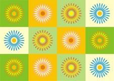 Frühling Simetry lizenzfreie abbildung