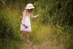 Frühling-Sommer-Mädchen Stockbild