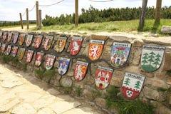 Frühling Tschechischer Republik Fluss Labe Lizenzfreie Stockbilder