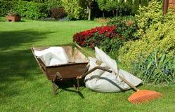 Frühling und Garten. stockfotografie