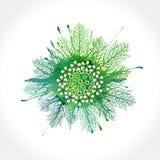 Frühlings-abstrakter Hintergrund Vektor, ENV 10 Lizenzfreie Stockfotografie