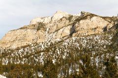 Frühlings-Berge um Las Vegas, Nevada Lizenzfreies Stockbild