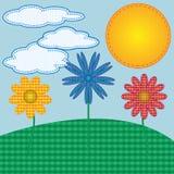 Frühlings-Blüten lizenzfreie abbildung