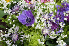 Frühlings-Blumenstrauß Stockbild