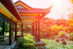 Frühlings-Garten-klassische Gärten von Suzhou Stockfotografie