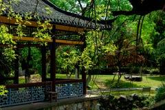 Frühlings-Garten-klassische Gärten von Suzhou Stockbild