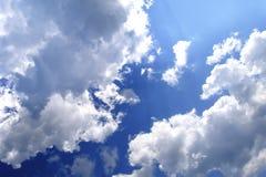 Frühlings-Himmel Lizenzfreie Stockbilder