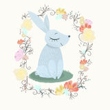 Frühlings-Kaninchen Stockfotografie