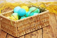 Frühlings-Ostern-Stillleben Stockbilder