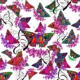 Frühlings-Saison-Schmetterling Lizenzfreie Stockbilder