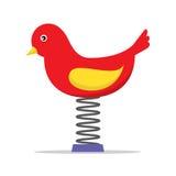 Frühlings-Spielplatz-Vogel Stockfoto