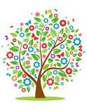 Frühlingsbaum vektor abbildung