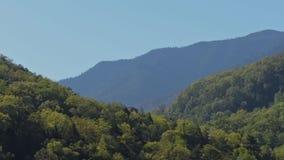 Frühlingsberge Stockbild