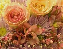 Frühlingsblumenstrauß Stockfotografie
