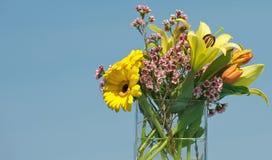 Frühlingsblumenstrauß. Lizenzfreie Stockfotos