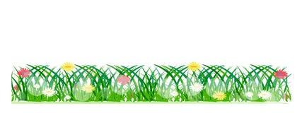 Frühlingsfahnen oder -titel Stockbilder