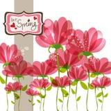 Frühlingsfall in Liebe Stockbilder