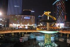 Frühlingsfest mit 2013 Chinesen in Chengdu Lizenzfreie Stockfotografie