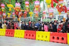 Frühlingsfestival mit 2012 Chinesen in Foshan Stockbild