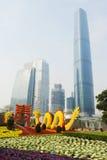 Frühlingsfestival mit 2012 Chinesen in Guangzhou Lizenzfreies Stockbild
