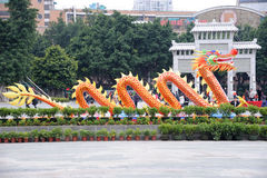 Frühlingsfestival mit 2012 Chinesen in Guangzhou Stockbild