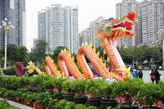 Frühlingsfestival mit 2012 Chinesen in Guangzhou Stockbilder