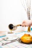 Frühlingsfrühstück Lizenzfreies Stockbild