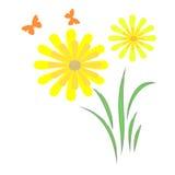 Frühlingsgartenauszug Lizenzfreies Stockbild