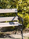 Frühlingsgartensitz Stockfoto